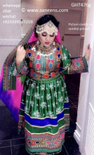 afghan clothes, pashtun singer dress, pathani frock