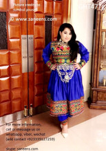 afghan clothes, pashtun bridal frock, hijab fashion