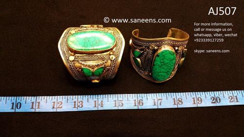 afghan jewelry, kuchi handmade bangles
