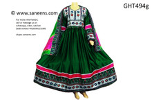 afghan clothes, mirrors work afghani dress