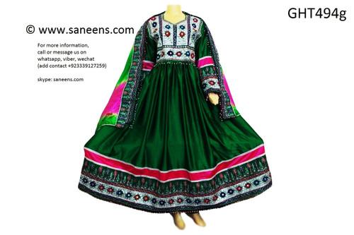 afghan clothes, mirrors work afghani dress