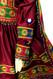 pashtun bridal dress in high low design