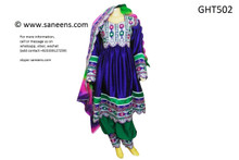 afghan clothes, pashtun singer dress