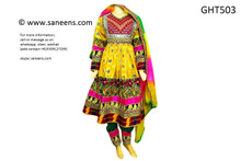 afghan clothes, pashtun yakhan dozi frock