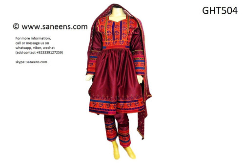 afghan clothes, pashtun wedding dress
