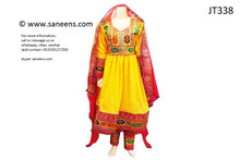 afghan clothes, pashtun women nikah dress