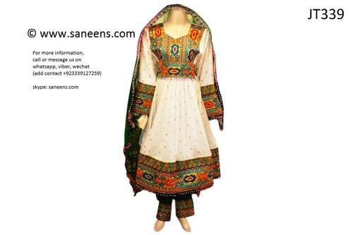 afghan clothes, persian aroosi dress