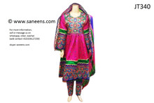 afghan clothes, pashtun singer dress