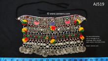 afghan jewelry, kuchi vintage choker