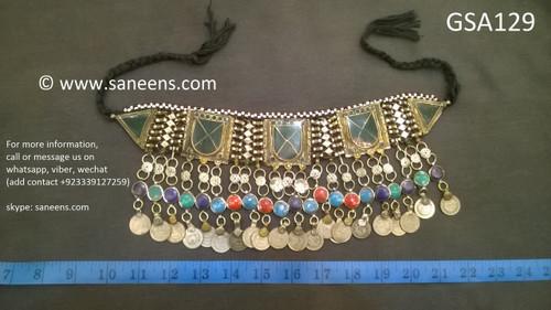 afghan jewelry, kuchi chokers