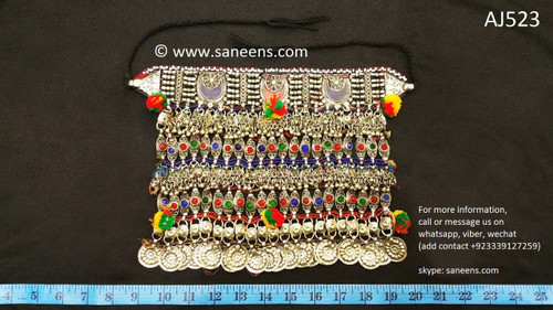 afghan jewelry, pashtun singer necklace