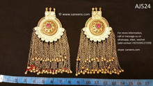 afghan jewelry, kuchi pendants