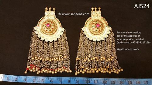 afghan jewelry, kuchi pendants
