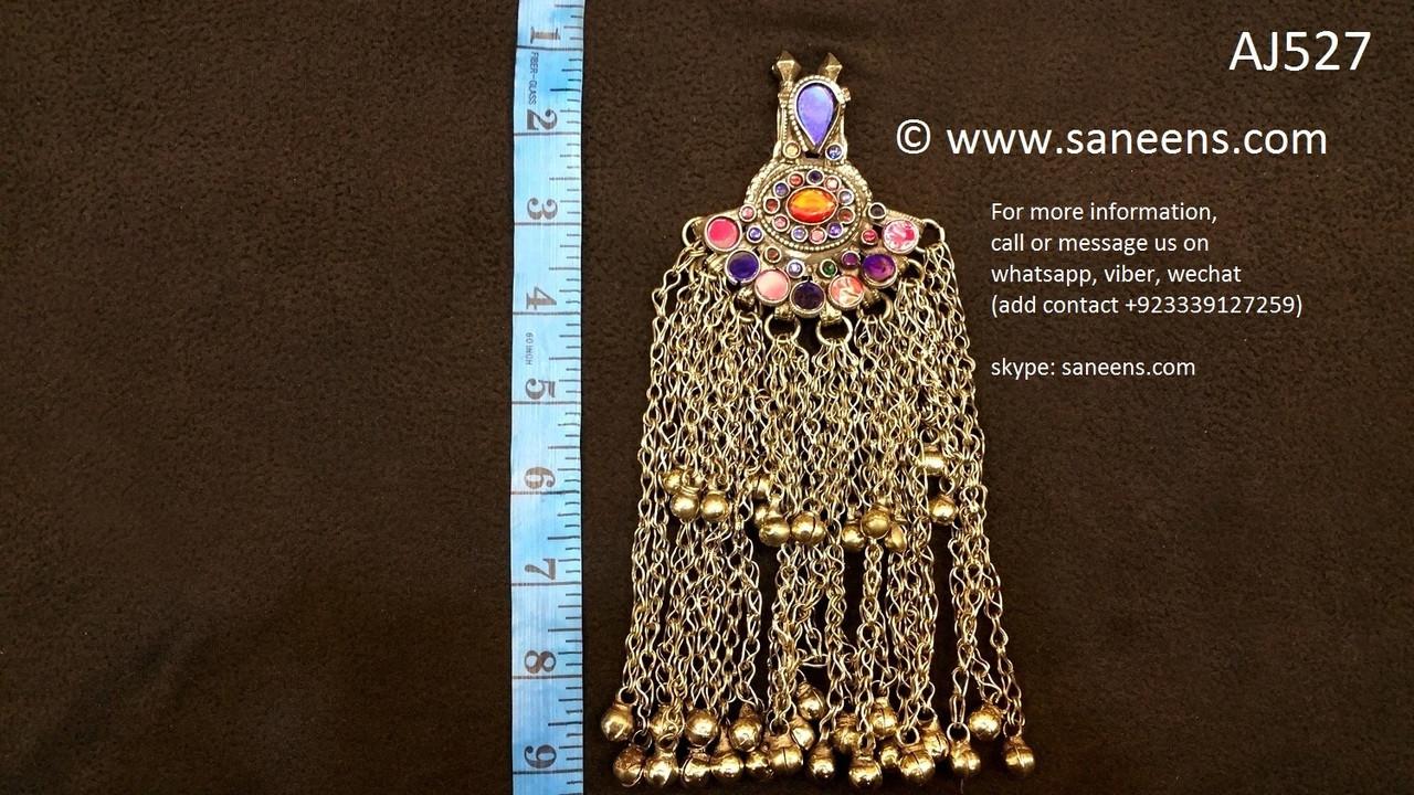267e731e81c3 ethnic kuchi pendants afghan muslim forehead jewellery
