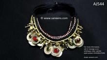 afghan jewelry, kuchi ethnic necklaces