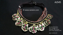 afghan jewelry, kuchi necklaces
