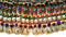 handmade kuchi necklace, nomad vintage choker