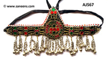 Afghan forehead jewelry