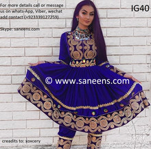 Afghan fashion kuchi bridal trendy frock