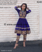 kuchi tribal  boho fashion frock for traditional weddings