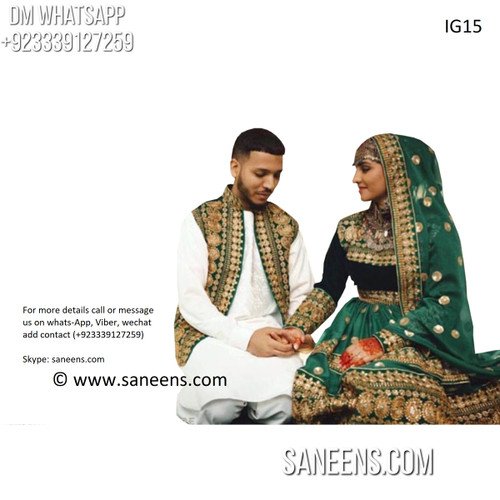 New arrivals for  afghan fashion kuchi tribal boho couple clothes for nikkah