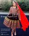 afghan fashion  trendy mirror work  dress for bridesmaids
