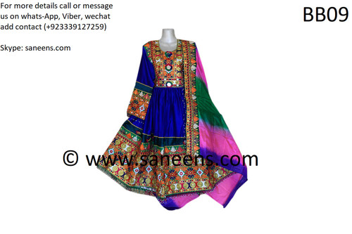 afghan fashion kuchi bride clothes