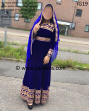 New afghan kuchi  dresses online by saneens