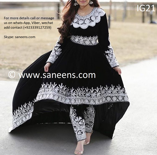 Afghan Fashion kuchi Eid arrivals traditional clothes
