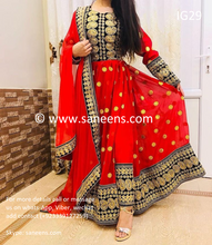 New afghan fashion brides clothes