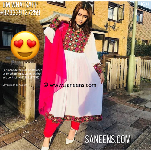 New afghan party wear outfits