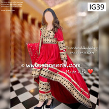New pashtun cultural wear online traditional  parties suits