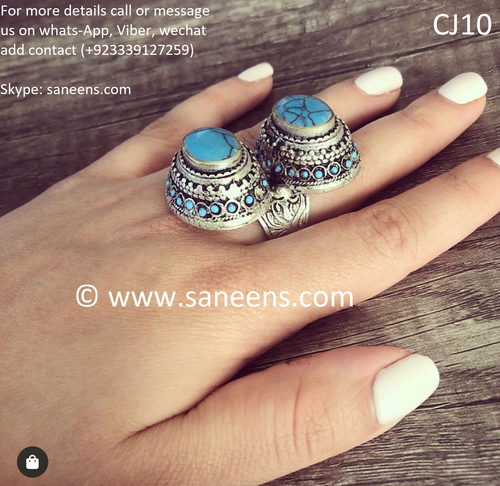 New afghan vintage type kuchi ring