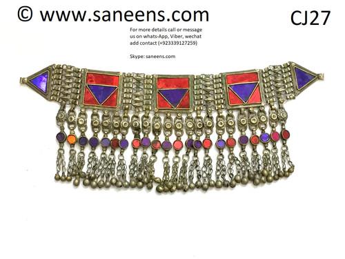 kuchi brides saneens necklaces