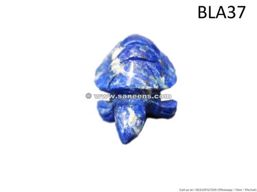 handmade afghan lapis lazuli stone turtle