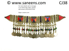 traditional pashtun style afghan choker