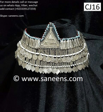 traditional afghan attan jewellery for head