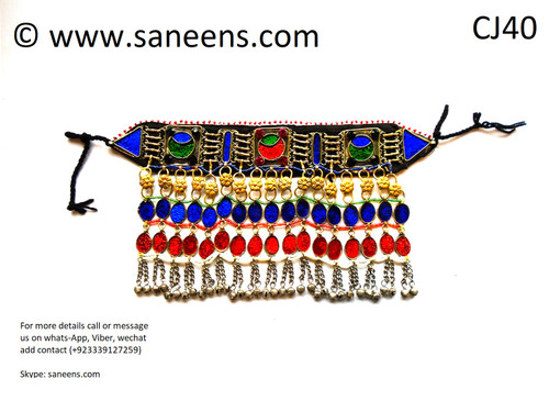 New afghan traditional necklace
