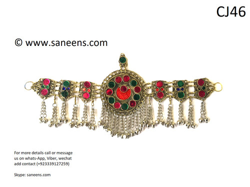 new pashtun cultural jewellery for head