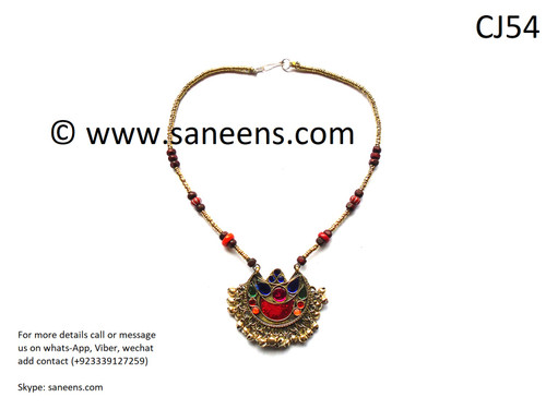 New pashtun style simple necklace