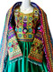 pathani dress with lot of beads work