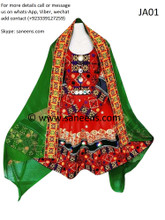New  Afghan fashion tribal ethnic boho clothes for nikkah arrivals