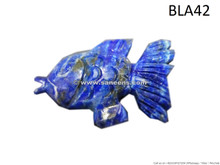 afghan lapis lazuli stone fish
