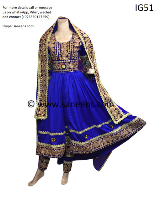Afghan Muslims style hard embroidery clothes with best quality