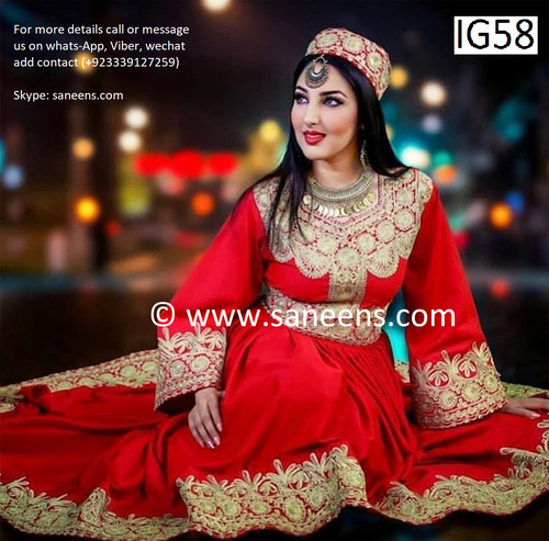 New setaqasmi pashtun singer dress by saneens new design