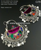 New afghan nomad kuchi type simple earrings