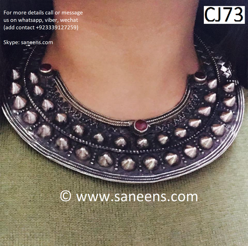 Traditional nikkah jewellery for neck with free shipping buy now