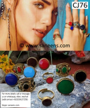 New afghan fashionable boho turkmen rings