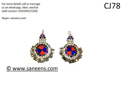 New traditional bridals  kuchi earrings by saneens