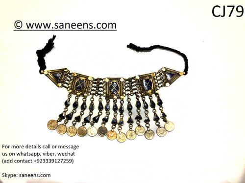 Afghan kuchi saneens online lapis jewellery